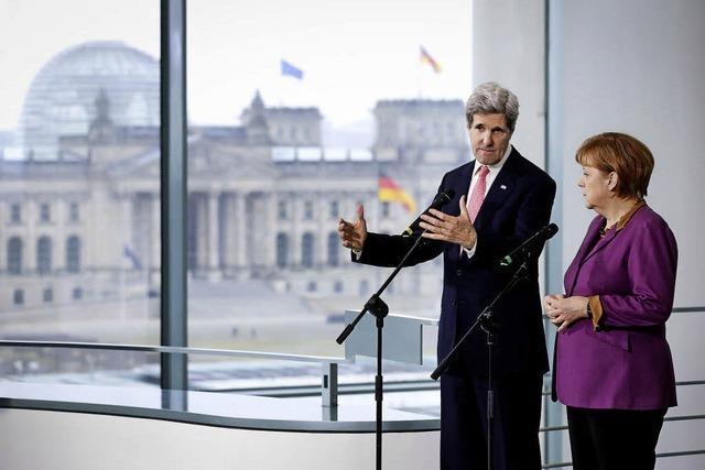 Außenminister Kerry lobt Beziehungen zu Berlin