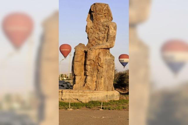 Heißluftballon stürzt in Luxor ab
