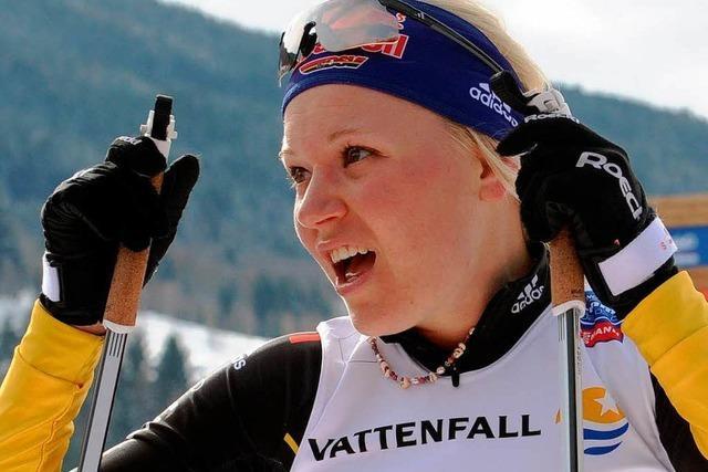 Miriam Gössner verfehlt Bronze um eine halbe Sekunde