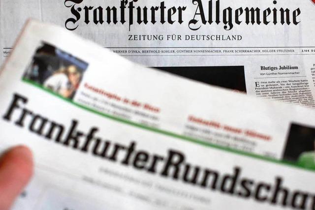 Frankfurter Rundschau: Übernahme durch die FAZ genehmigt