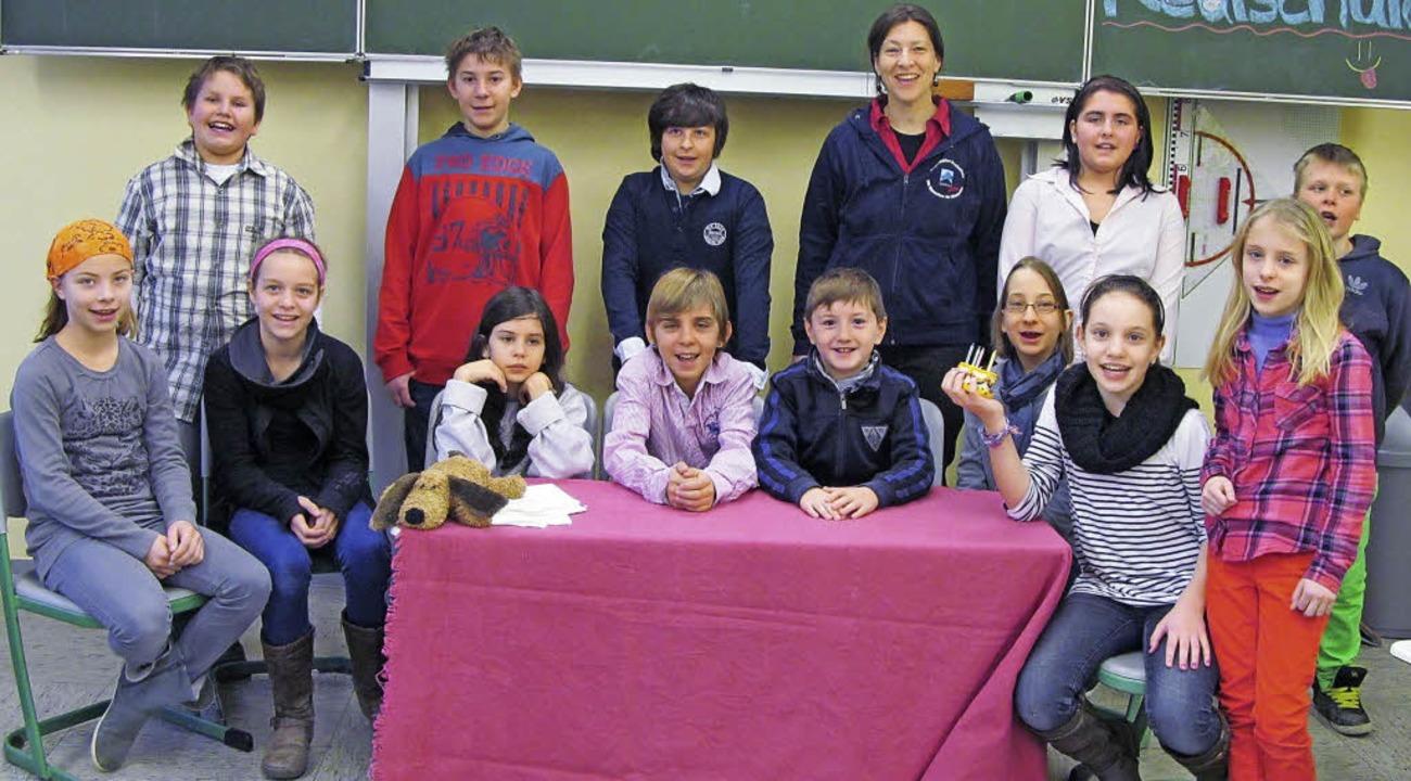 Schüler der 5. und 6. Klassen der Brei...ius-Leber-Grundschule einen Besuch ab.    Foto: privat