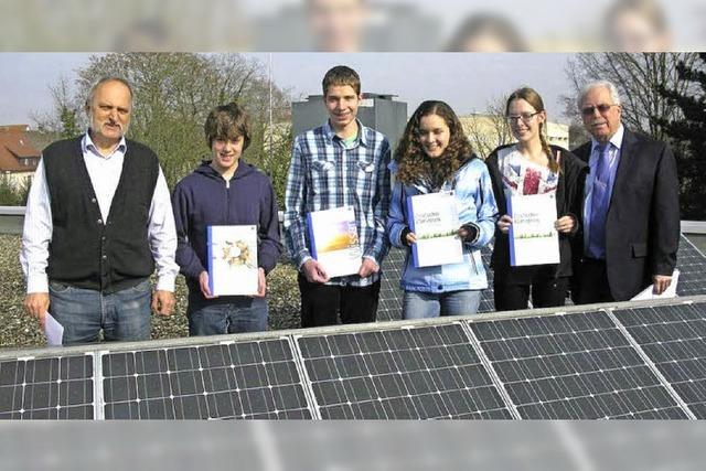 Solarprojekt ausgezeichnet