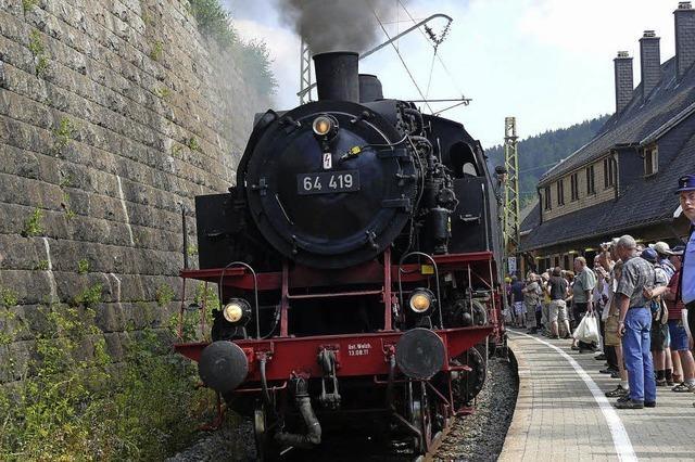 Ein Eisenbahnmuseum in Seebrugg heißt das Ziel