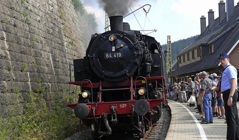 Auch im kommenden  Sommer wird die IG ...  auf der Dreiseenbahn fahren lassen.   | Foto: Ute Aschendorf