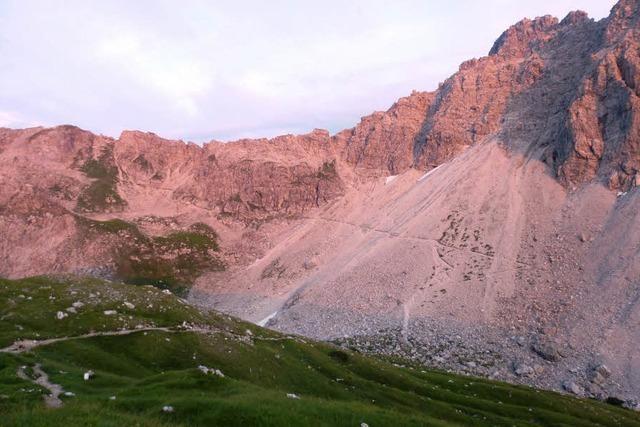 Auf Schusters Rappen über die Alpen