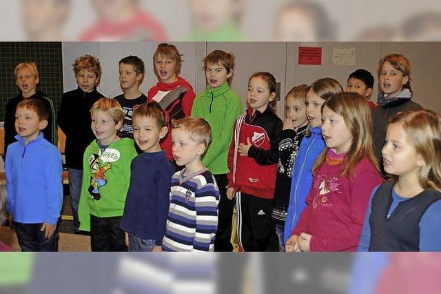 Singen fördert Schulklima