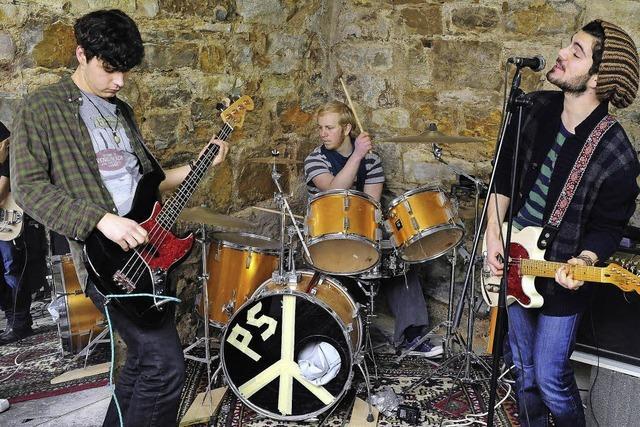 Peaceful Sins - Guerilla-Hippie-Rock made in Wiehre