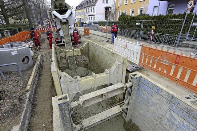 Kanalbau mit Flüssigboden schont Nachbarn und Geldbeutel