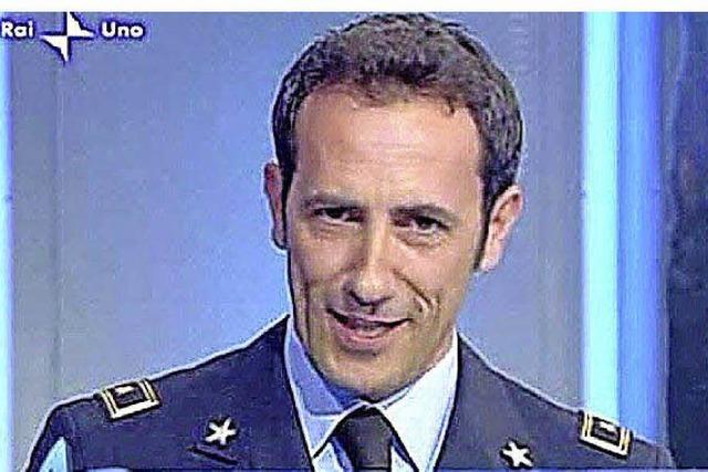 Italiens schönster Wetteransager: Krieg gegen die Kaltfront