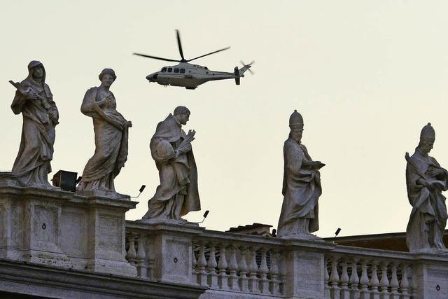 Papst Benedikt hat den Vatikan verlassen