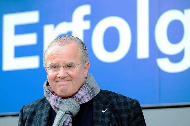 Fritz Keller über den sportlichen Höhenflug des SC Freiburg