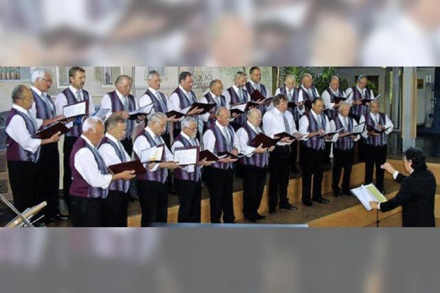 Männergesangverein feiert 125. Geburtstag