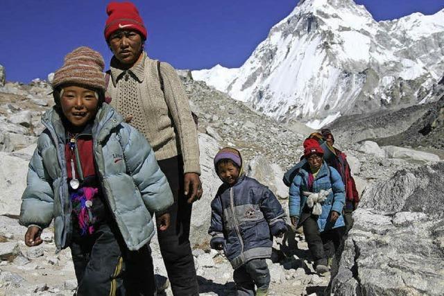 Live-Reportage über Tibet von Maria von Blumencron in Lörrach