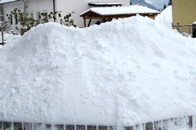 Winter bringt wenig Sonne, aber viel Schnee