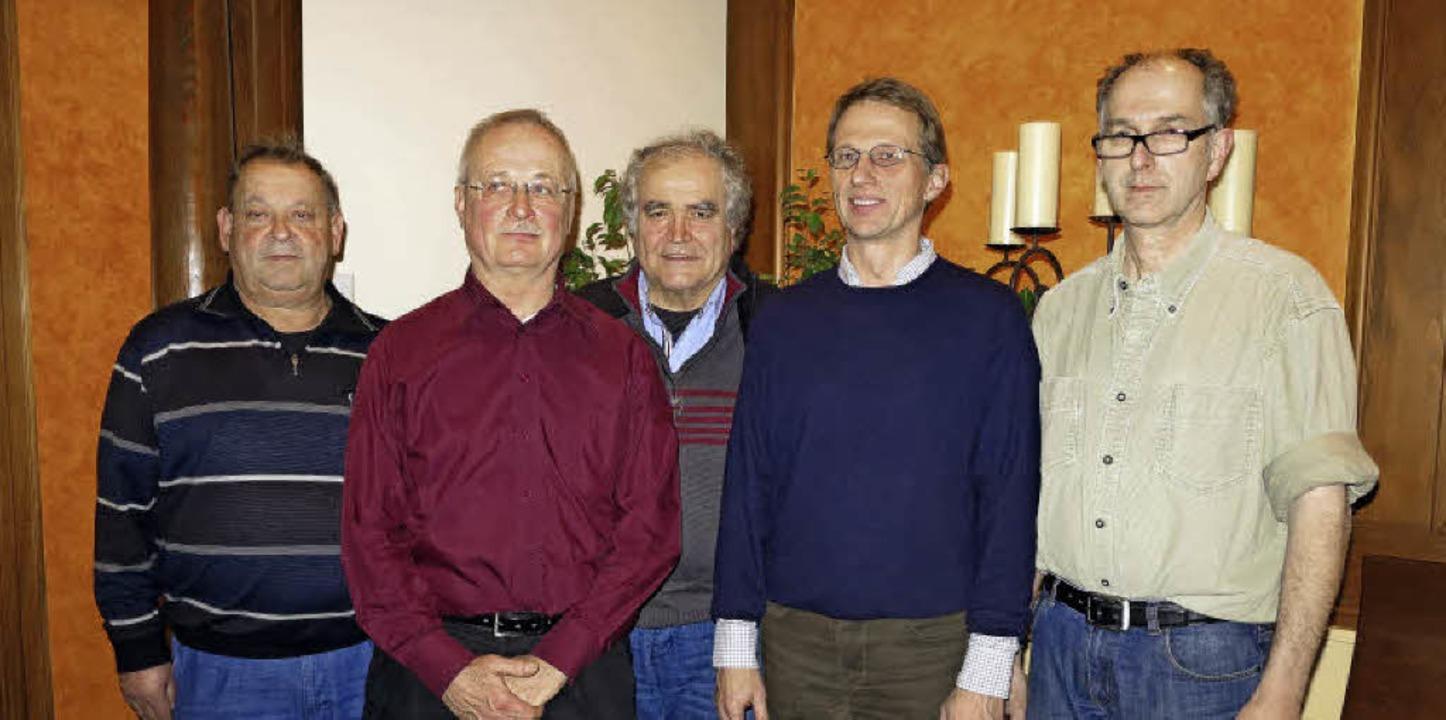 Die drei Gründungsvorsitzenden des neu...nks, auf dem Foto fehlt Günter Ehret)   | Foto: Dorothee Philipp