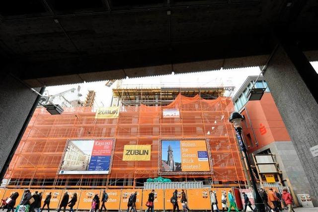 H&M belegt in der Kajo 192 ein Stockwerk mehr