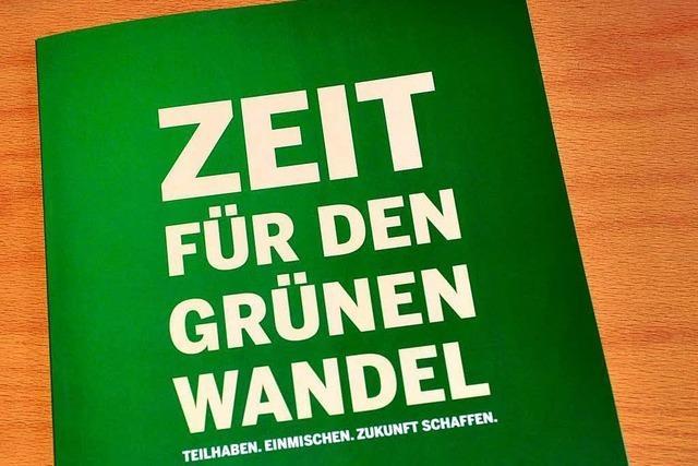 Die Grünen stehen zur SPD