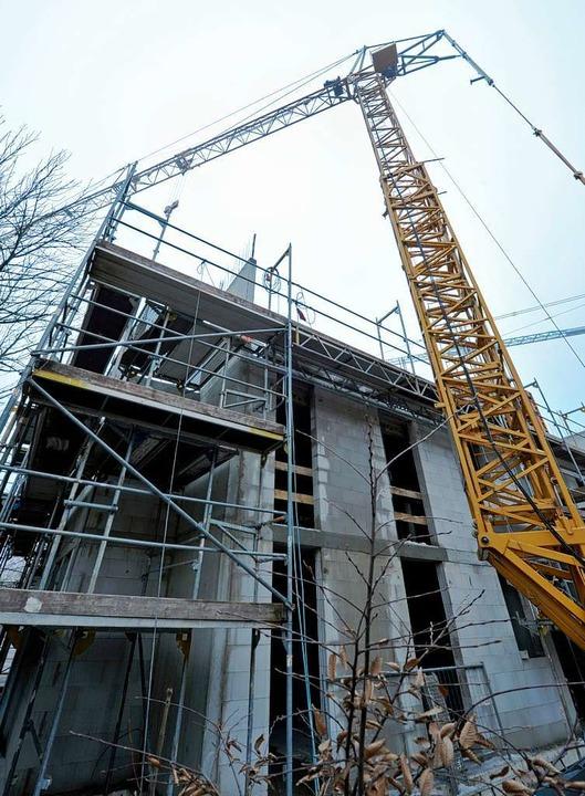 Bauen wird immer teurer, das schlägt sich auch auf die Mieten nieder.   | Foto: michael bamberger