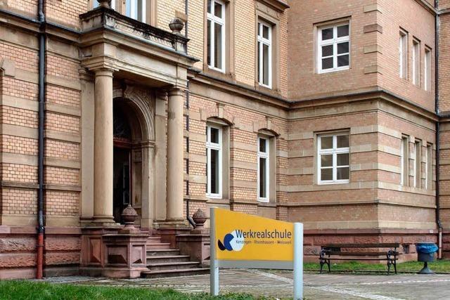 Werkrealschule Kenzingen: 2017 wird der Unterricht eingestellt