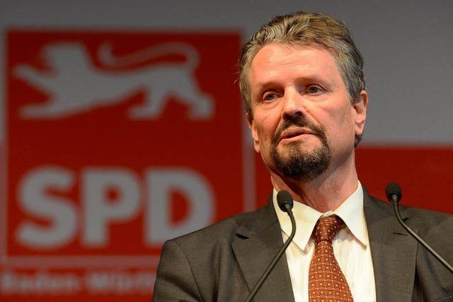 SPD-Landesparteitag: Fast 98 Prozent für Gernot Erler