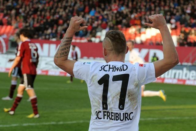 SC Freiburg holt verdienten Punkt in Nürnberg