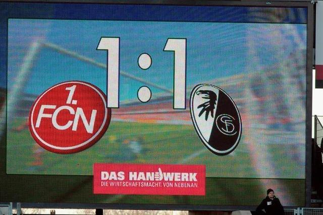 SC Freiburg: In Nürnberg wäre ein Sieg möglich gewesen