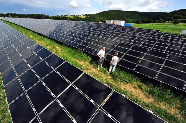 Auflagen für Solarprojekte