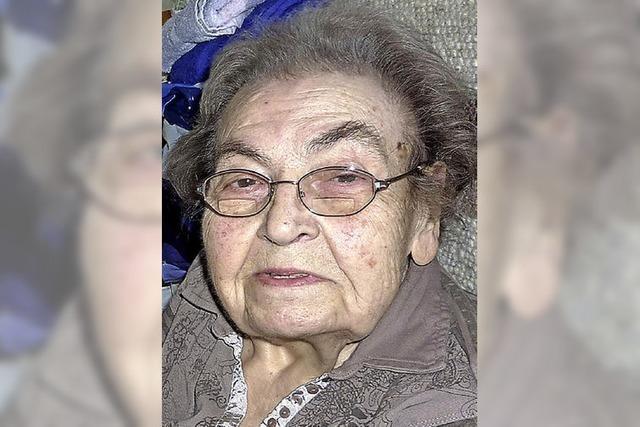 Hildegard Seiler wurde 85 Jahre