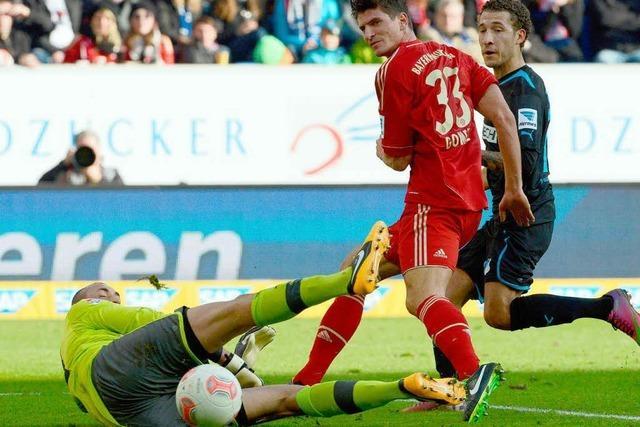 Minimalsieg: Bayern schlägt Hoffenheim mit 1:0