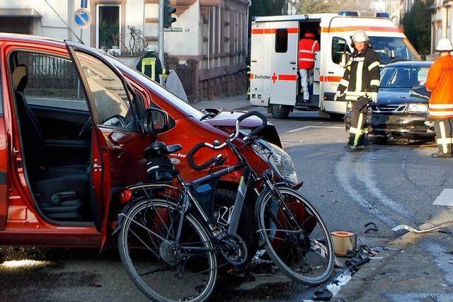 Schwerer Unfall mit einem Todesopfer in Lahr