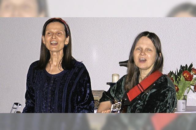 Schwestern-Duo