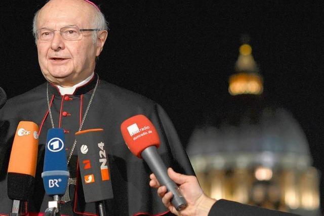 Zollitsch: Ein Papst aus Lateinamerika wäre starkes Zeichen