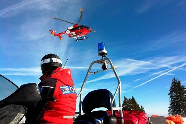 Bergwacht muss 67 Verletzte in einer Woche verarzten