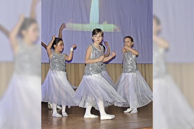 Ballettvorführung als Fototermin