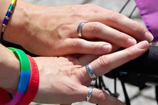Südwest-CDU gegen steuerliche Gleichstellung von Homosexuellen