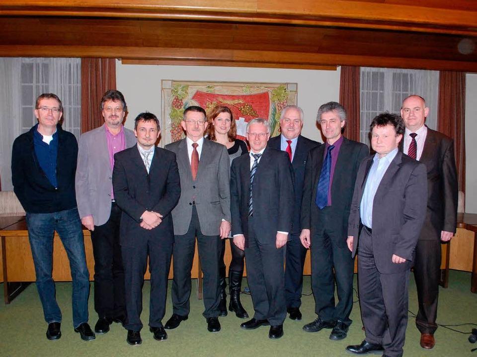 Der Vorstand und der Aufsichtsrat der Bürgerenergiegenossenschaft  | Foto: Benjamin Bohn