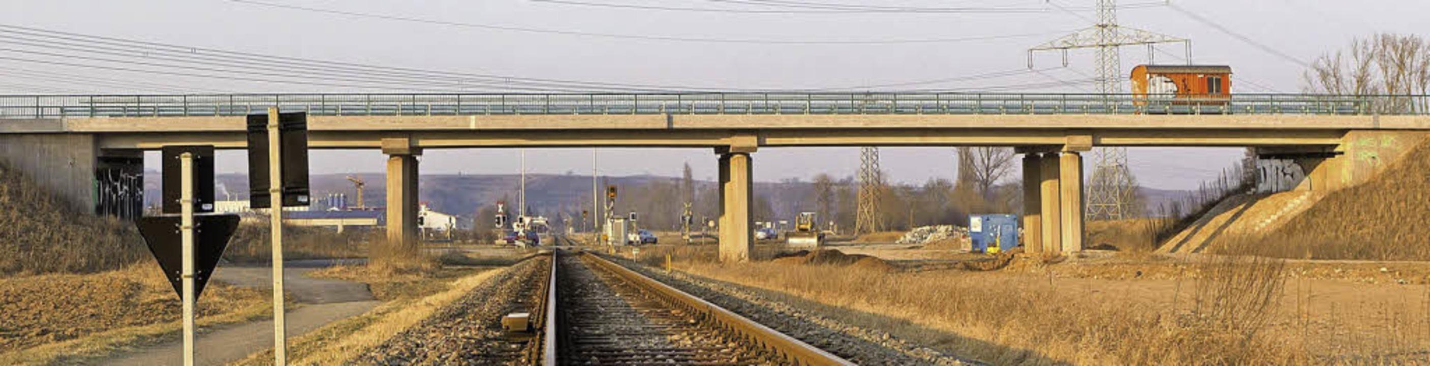 Die Brücke bei Gottenheim für die B31-...ern, denn die Planung liegt auf Eis.    | Foto: Carlotta Huber