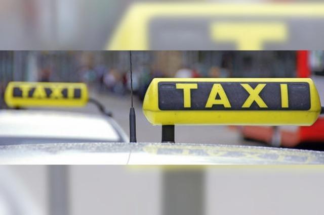 Abhol-Stopp für deutsche Taxis