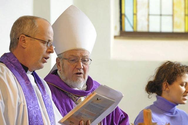 Anglikaner leben im Provisorium