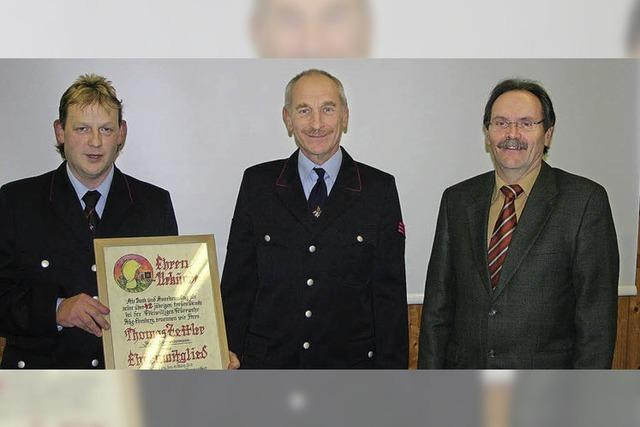 Feuerwehrleute sind