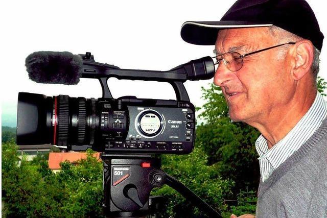 Amateurfilmer dokumentiert den Schluchtensteig