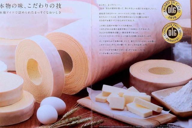 Deutscher Baumkuchen ist in Japan ein Modegebäck