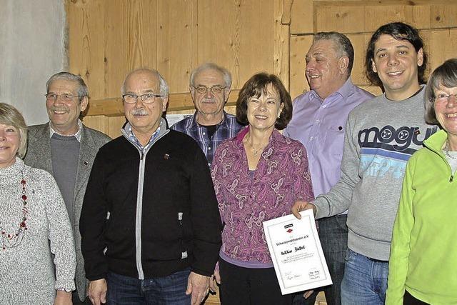 Treue Vereinsmitglieder mit Gold und Silber geehrt
