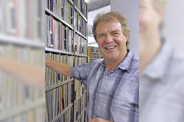 Audio-visuelle Lesung von SWR1-Moderator Günter Schneidewind