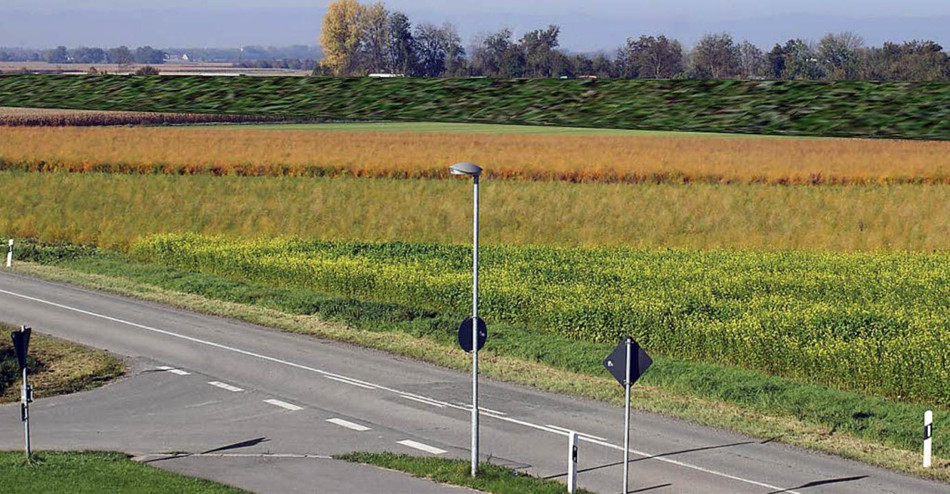 Die MUT wünscht sich eine Geländeaufsc...hutzwand, wie sie die Bahn vorschlägt.    Foto: Privat