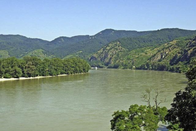 Bilder von der schönen, blauen Donau