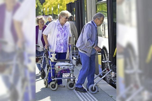 Ältere Generation macht mobil