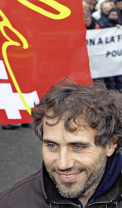 Der Gewerkschafter: Jean-Luc Cardoso    Foto: Thierry Gachon/AFP