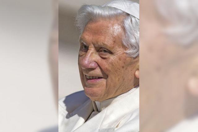 Papst Benedikt XVI.: Wie wir Papst waren