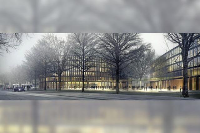 Im neuen Rathaus soll's rundgehen